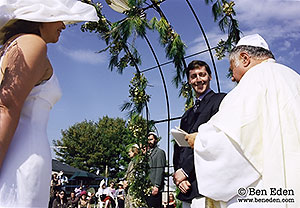 Photography of the Jewish wedding ceremony